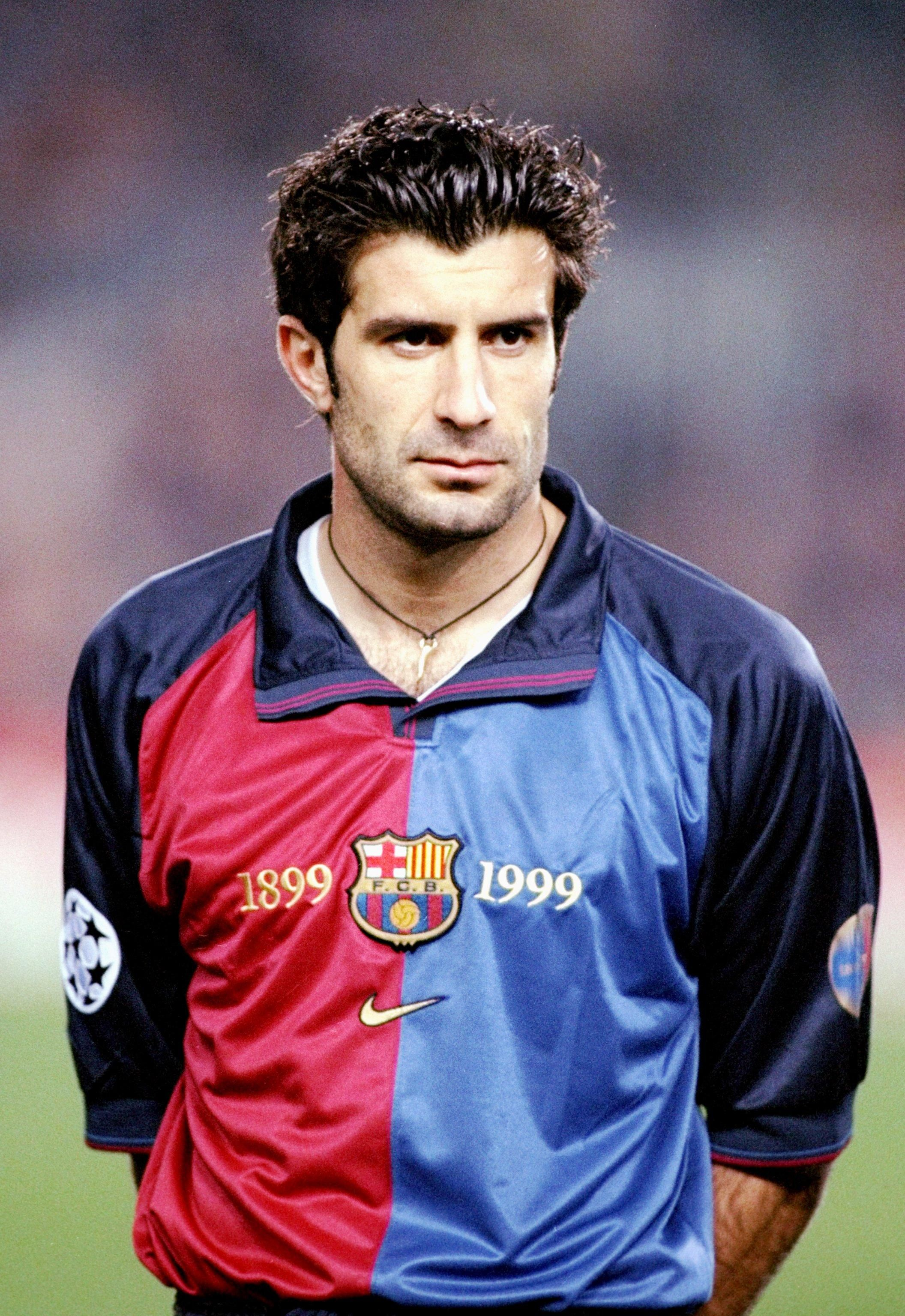 Image result for images of Luis Figo