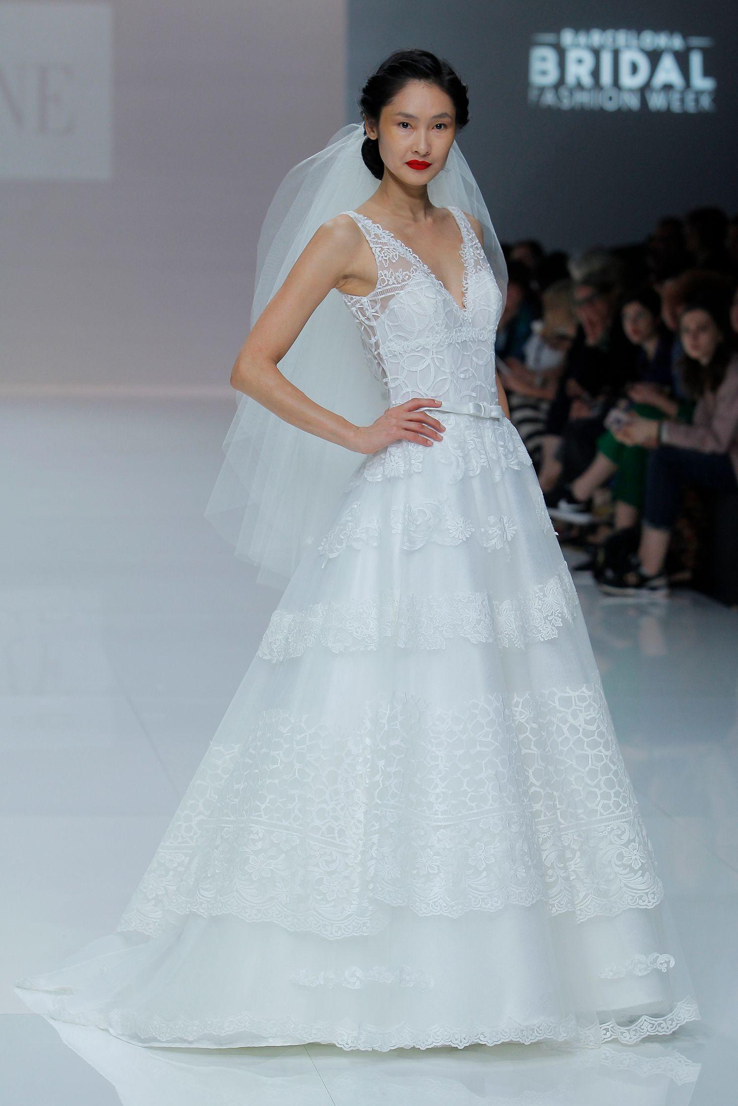 Vestido de Novia de Cymbeline - CY 073 #wedding #bodas #boda ...