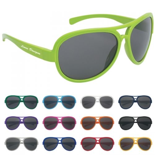The Cory Hart Recycled Sunglasses are made with style and functionality in mind. Protect your investment and your customers with these sunglasses featuring UV400 lenses that provide 100% protection from damaging UVA and UVB rays.  http://www.empirepromos.com/items/CoryHartRecycledSunglasses24507.php#