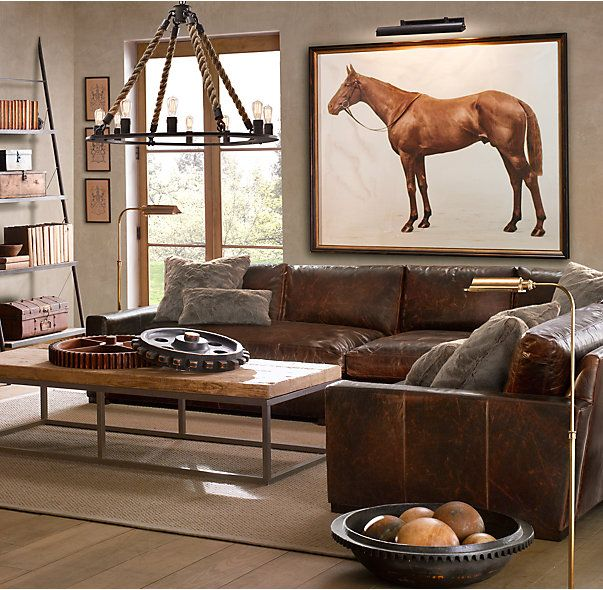Maxwell Leather Customizable Sectional : customize sectional - Sectionals, Sofas & Couches