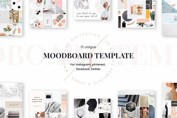 Mood Board Templates Mood Board Template Mood Board Mood Boards