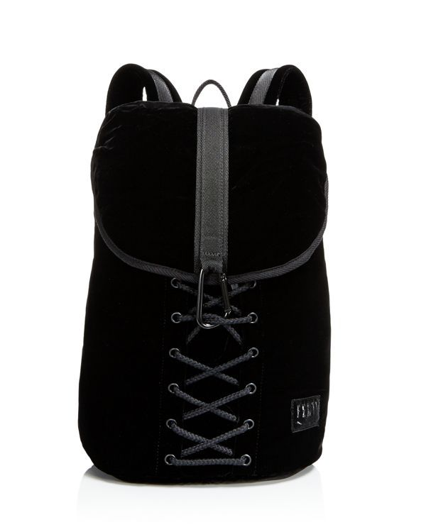 Designed with the label's signature lace-up embellishment, this must-have  backpack from Fenty Puma x Rihanna adds street-style credibility to your bag  ...