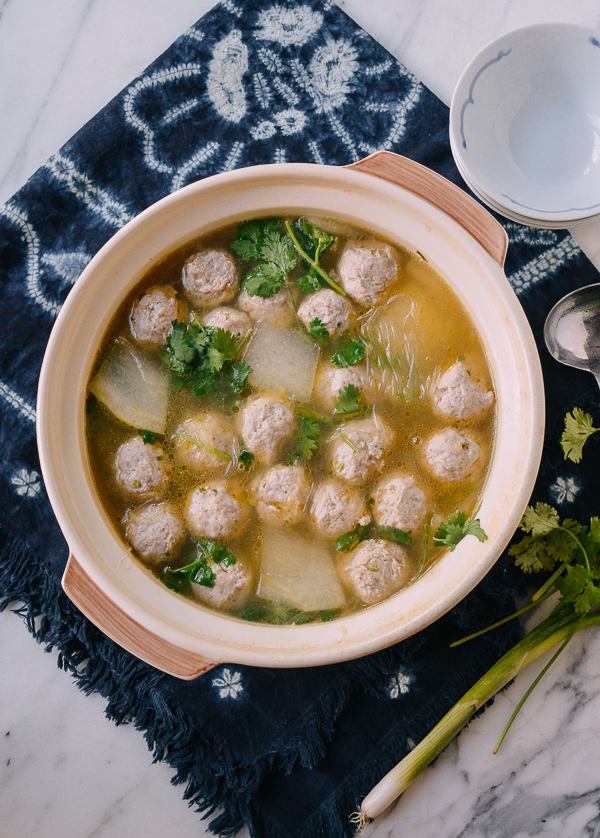 Chinese Winter Melon Soup with Meatballs | The Woks of Life