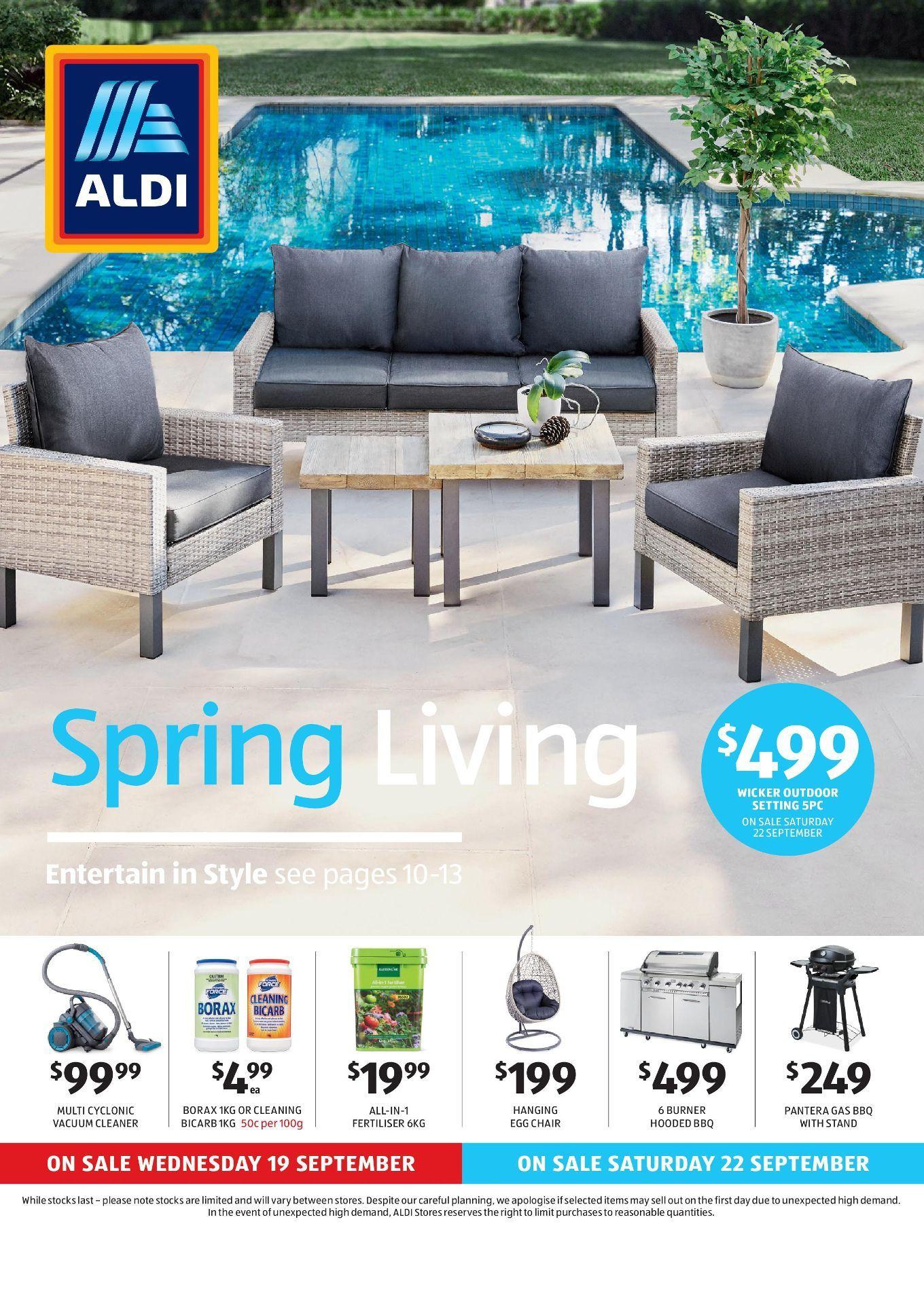 Aldi Catalogue Specials Week 42 17 23 October 2018 Outdoor