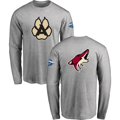 fda360f5 Men's Arizona Coyotes Design Your Own Long Sleeve T-Shirt | Coyotes ...