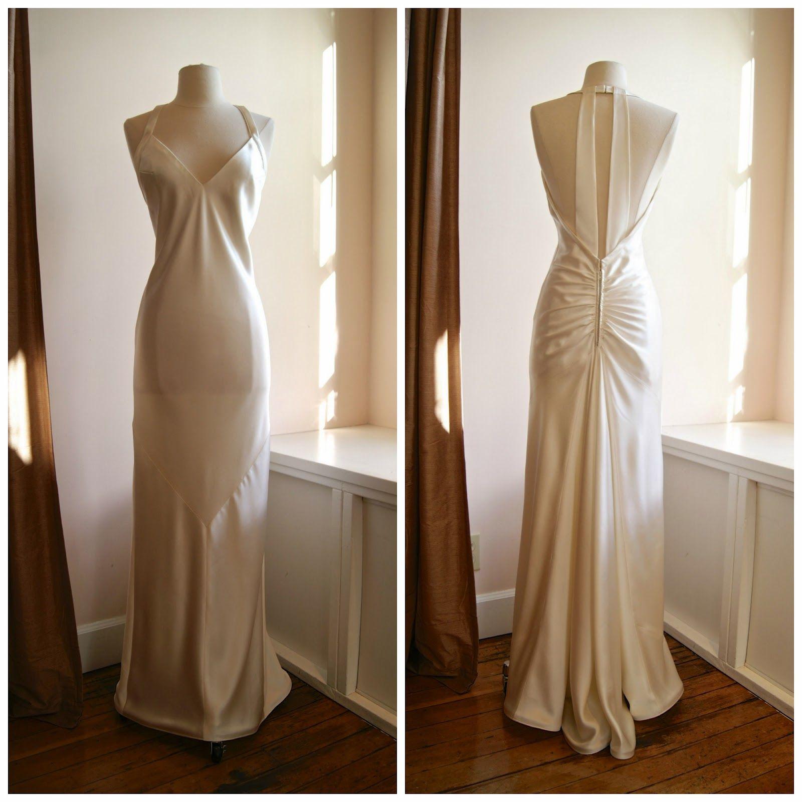 Vintage Dress / Vintage Wedding Dress / Xtabay Vintage