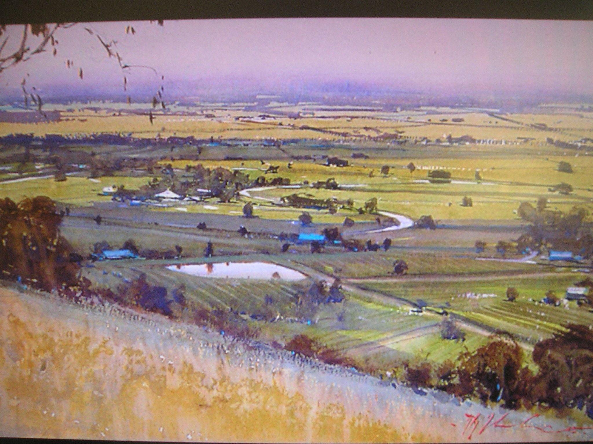 Watercolor artist magazine customer service - Joseph Zbukvic Australia S Master Watercolorist Watercolor Landscapewatercolour Artwater