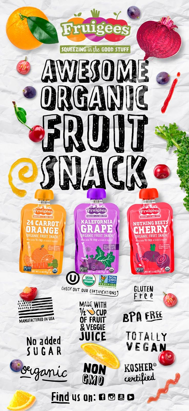 642e57676107e Fruigees on Packaging of the World - Creative Package Design Gallery