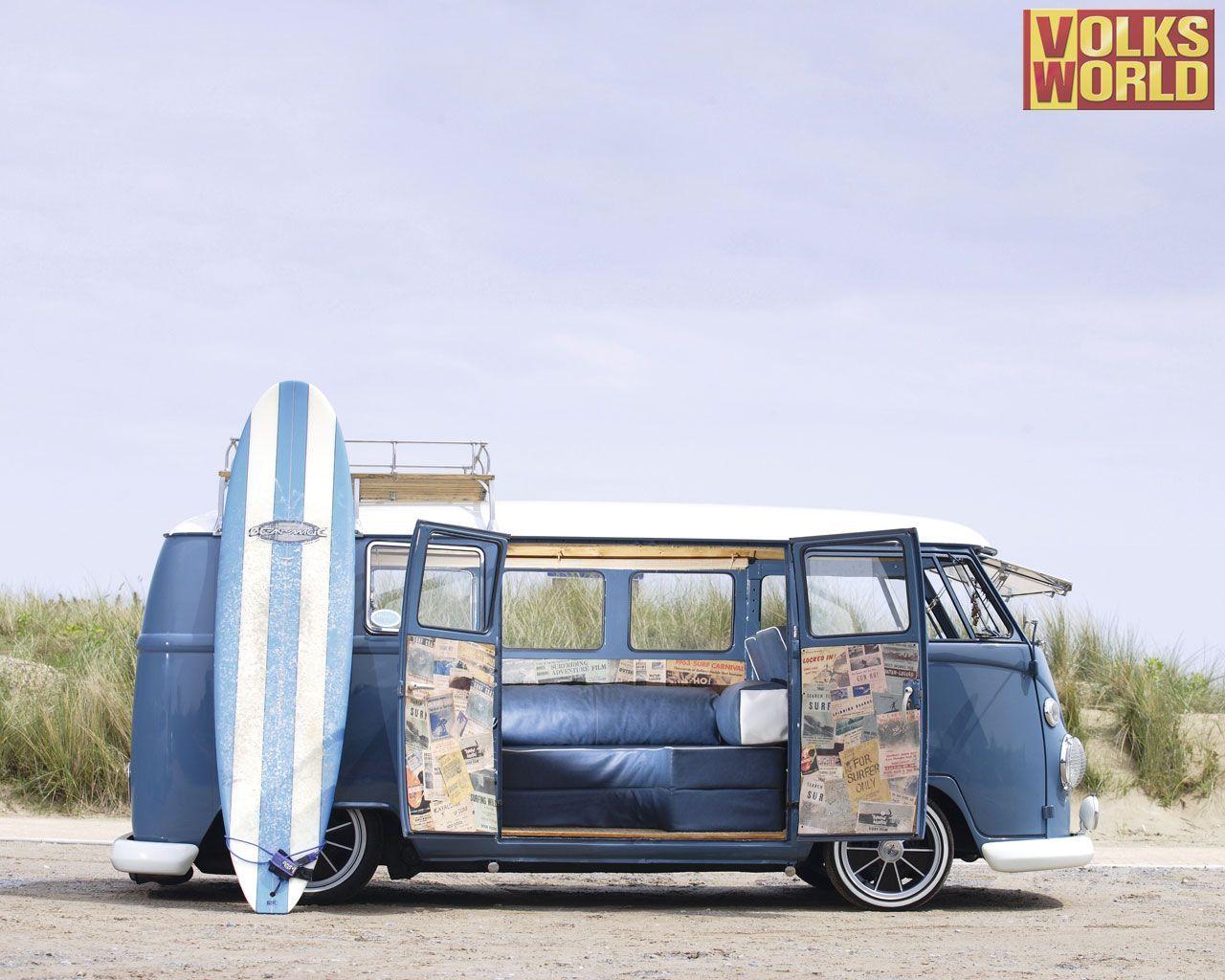 Surf Van Wallpaper Volkswagen Bus Vw Van Volkswagen Van