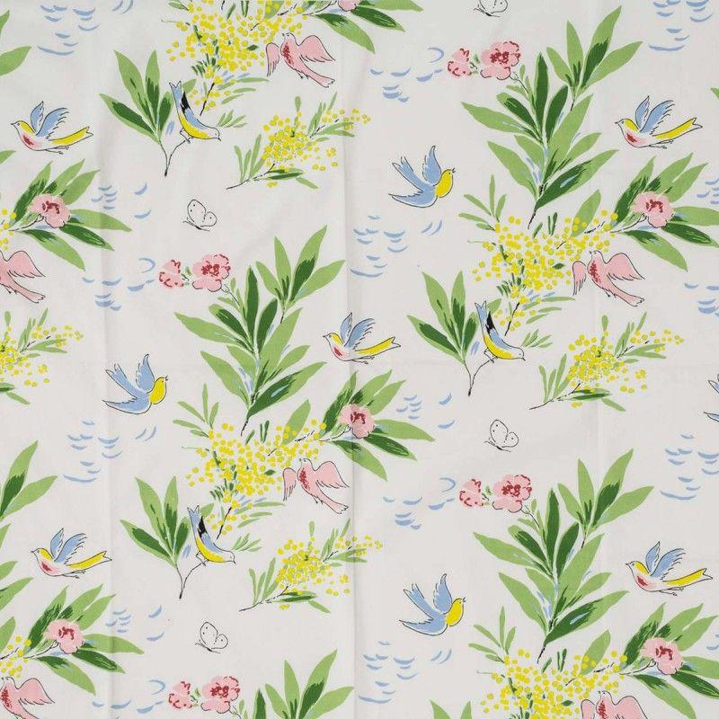 paule marrot linge de lit Textiles   Paule Marrot, Tambourin | Vintage floral patterns  paule marrot linge de lit