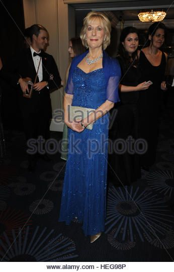 Guests attend Russian Debutante Ball, now in its 4th year, at the Grovesnor Grand Ballroom - Arrivals  Featuring: Her Highness Princess Olga Romanoff Where: London, United Kingdom When: 19 Nov 2016 - Stock Image