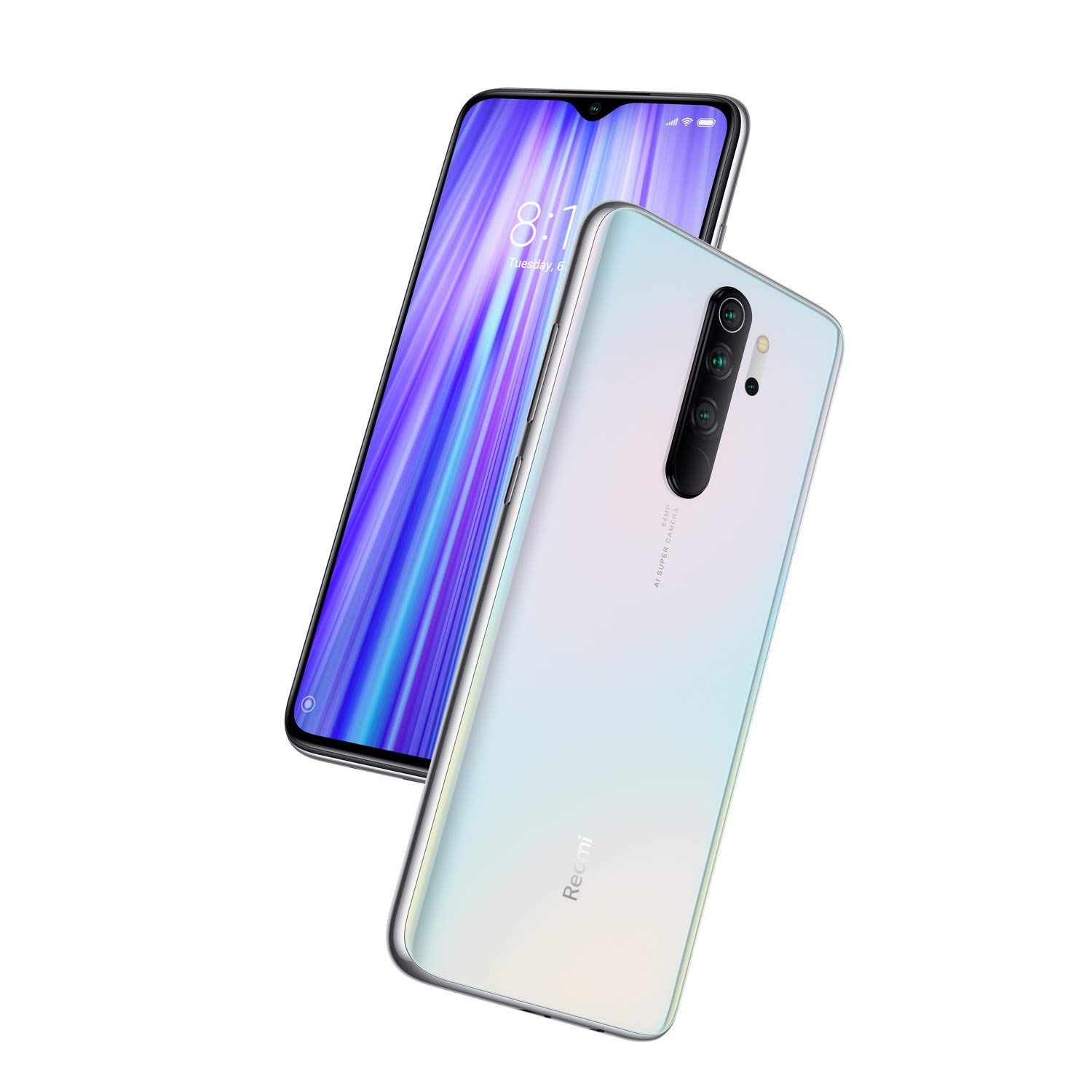Redmi Note 8 Pro Halo White 6gb Ram 128gb Storage With Helio G90t Processor Amazon In Electronics Phone Best Smartphone New Phones