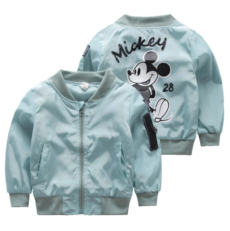 38bcf8409 Mickey Mouse Bomber Jacket