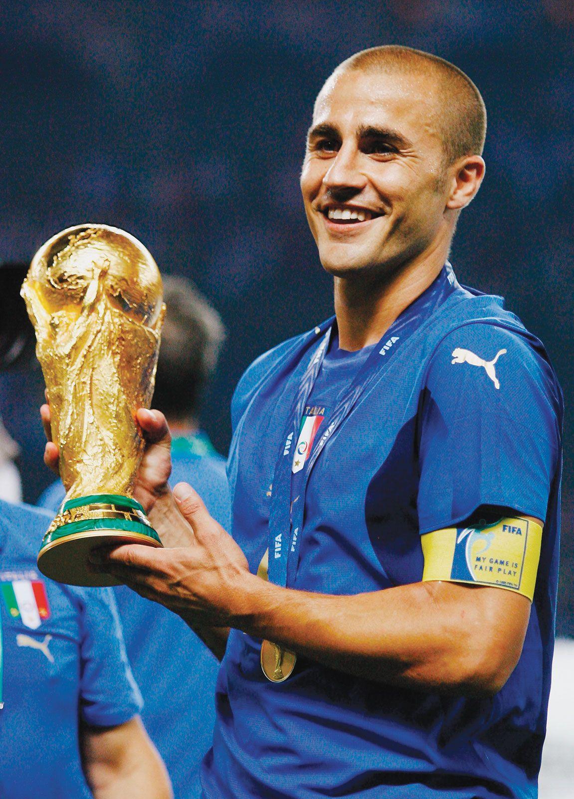 Fabio cannavaro 2006 germany Italy win world cup vs france