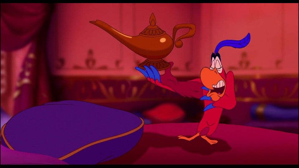 Aladdin Iago:(mocking jafar) iago on a scale from 1 to 10 ...