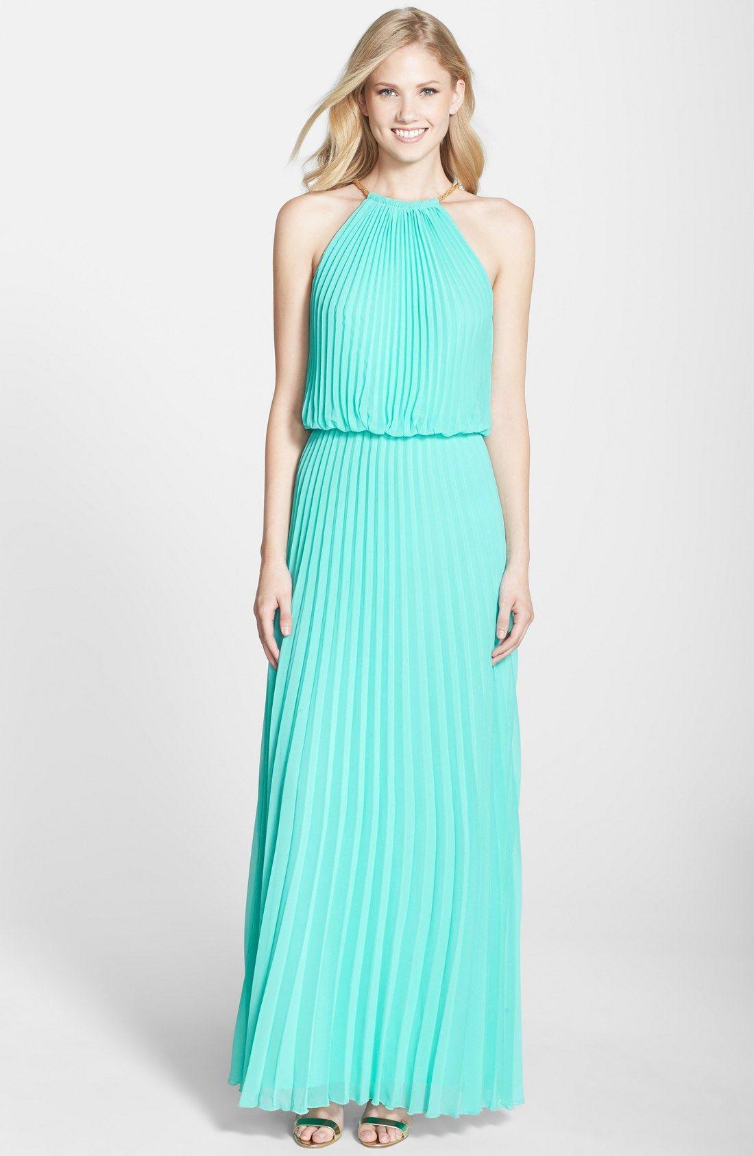 Xscape Pleated Chiffon Blouson Dress (Regular & Petite) | My Style ...