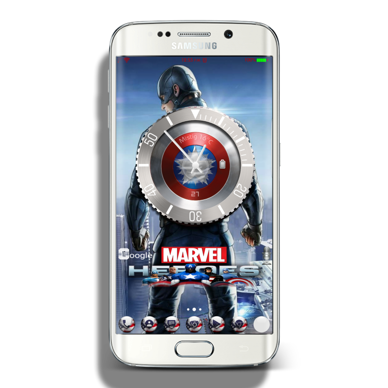 Marvel Samsung Theme