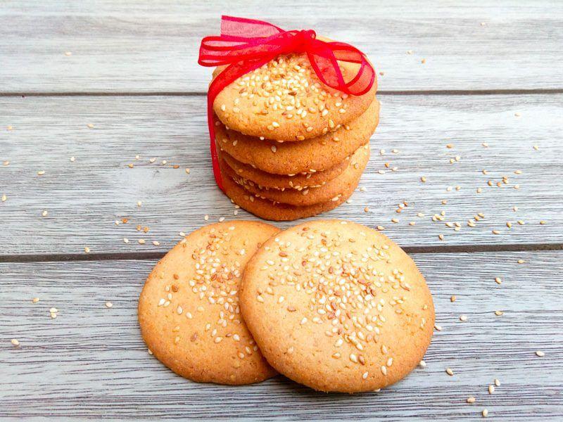 Biscuits au sésame au Thermomix | Recette | Recette ...