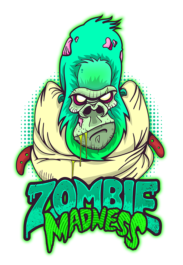 Zombie Madness on Behance Art Pinterest Madness