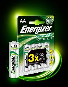 Pilas Energizer® Power Plus. Pilas recargables de uso general con una duración hasta tres veces mayor en cámaras fotográficas digitales #Pilas #PilasRecargables #PowerPlus #Energizer #Energy