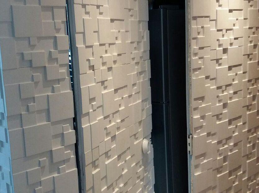 Revestimento de paredes com placas decorativas painel novidade mag ed pinterest - Placas pared decorativas ...