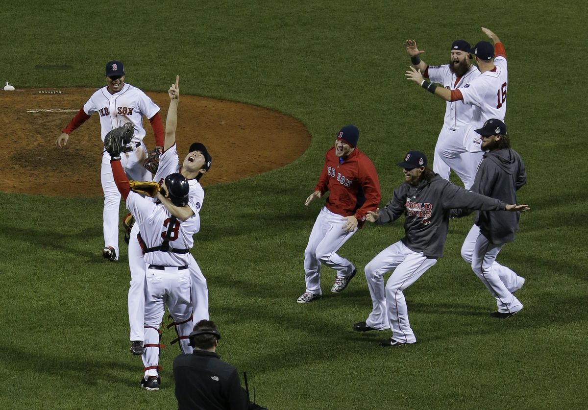 PHOTOS 2013 World Series Game 6 Red sox world series