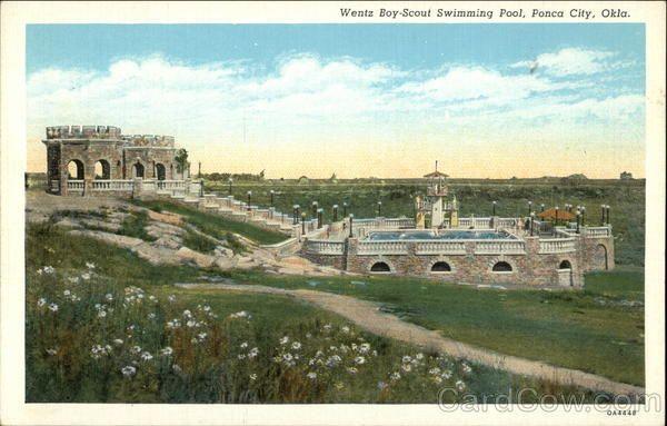 Wentz Boy Scout Swimming Pool Ponca City Oklahoma Boy