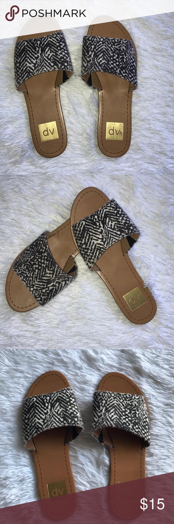c6ace8f95318 DV Animal Print Slides NWOT SZ 8 Dolce Vita by Target DV by Dolce Vita Shoes