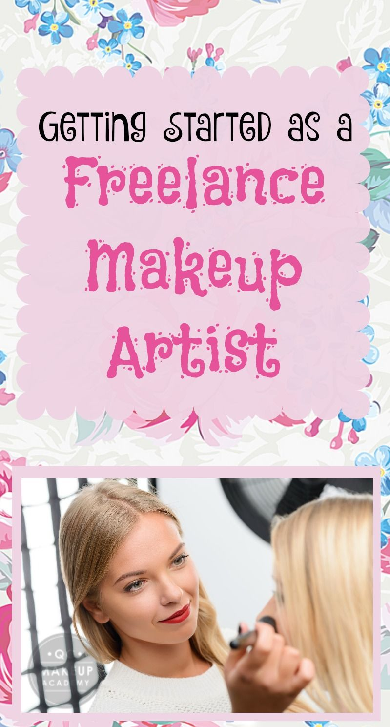 Getting Started as a Freelance Makeup Artist