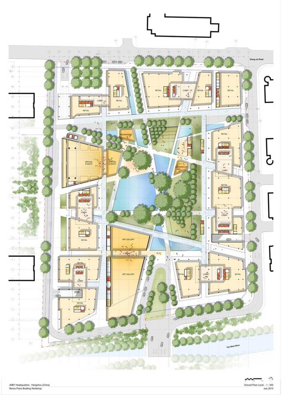 Jnby headquarters project projets am nagements for Plans d arkitek