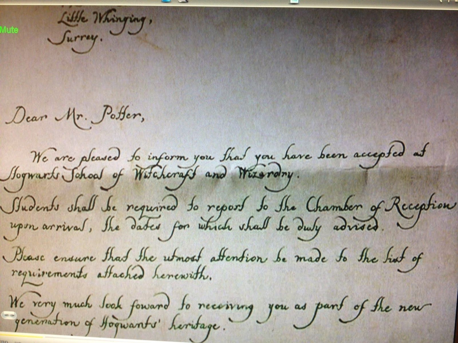 it s not like it s rocket surgery Hogwarts Acceptance Letter