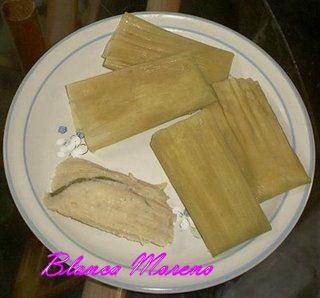 recetas faciles: Tamales de elote con rajas y queso