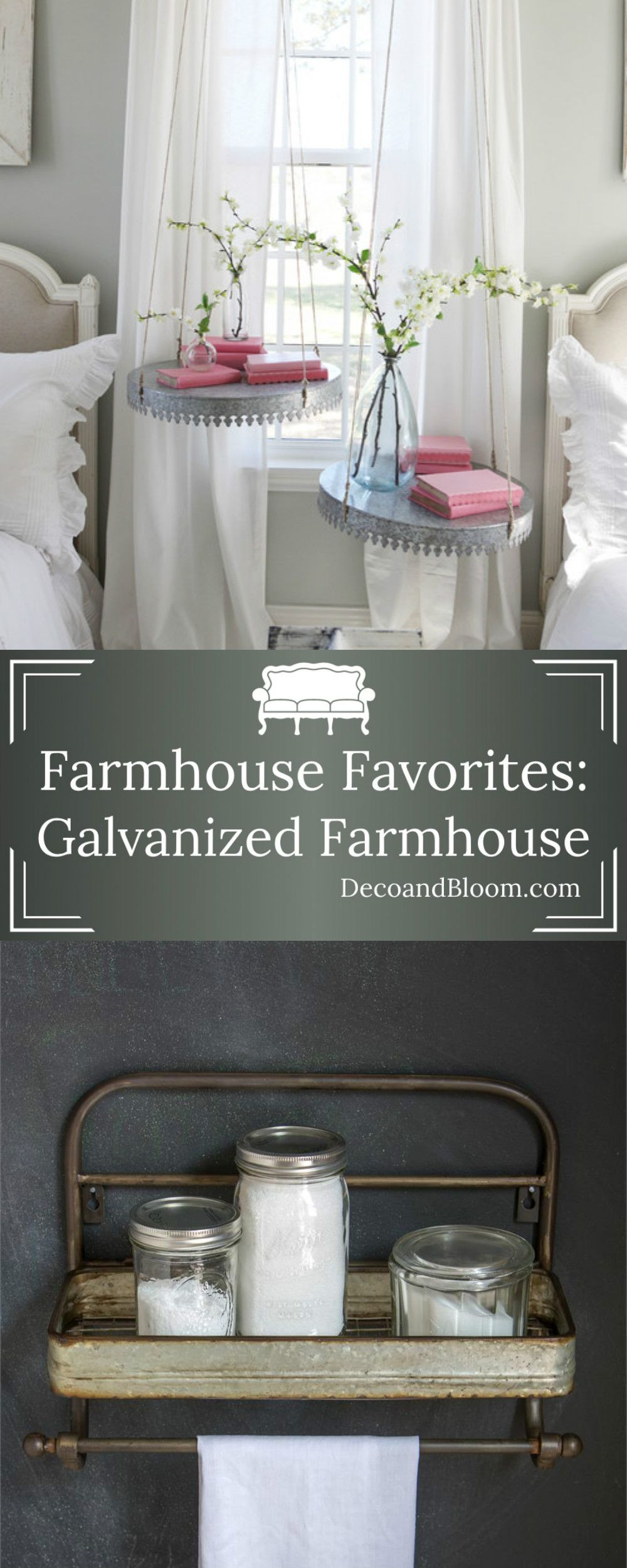 Farmhouse favorites galvanized farmhouse farmhouse style