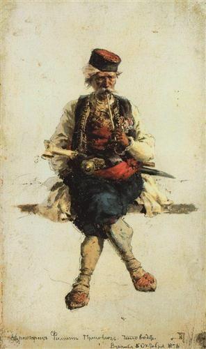 Montenegrin - Vasily Polenov
