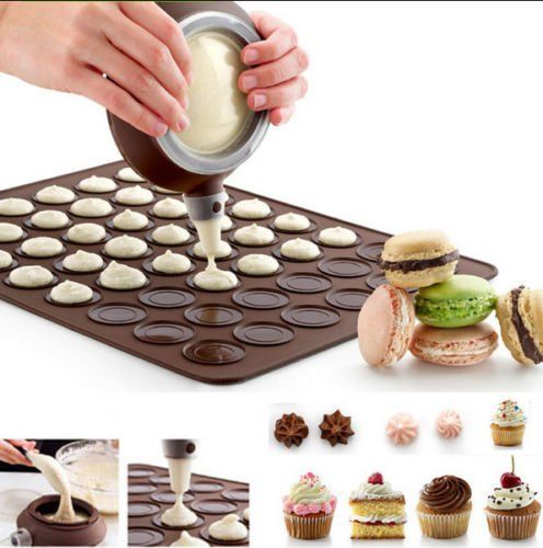 Amazon.com: Silicone Macaron Baking Decorating Pen Pastry Cream Cake Muffin 3 Nozzle/set Kit: Kitchen & Dining