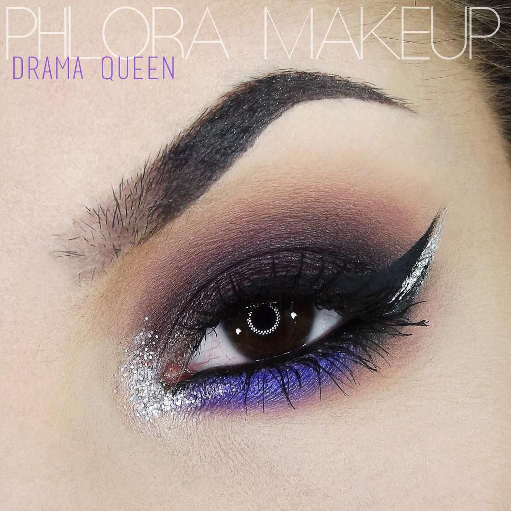'Drama Queen' look by Phlora MUA using Makeup Geek's Drama