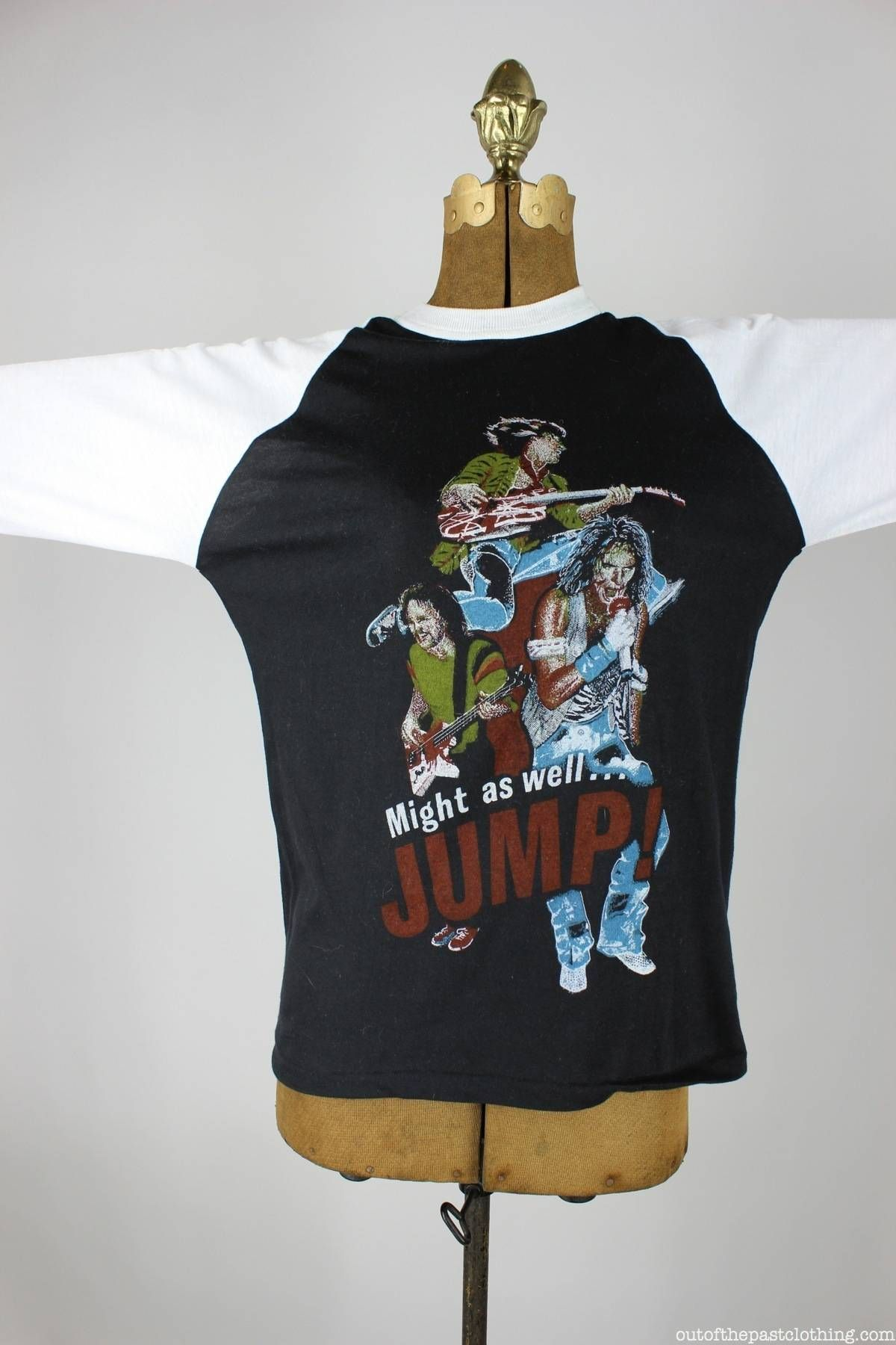 Van Halen Dead Stock Vintage Jump Baseball T Shirt Size M Baseball Tshirts Vintage Tshirts T Shirt