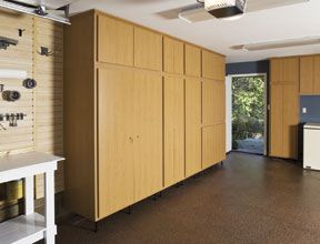 How To Build Plywood Garage Cabinets Garage Storage Cabinets