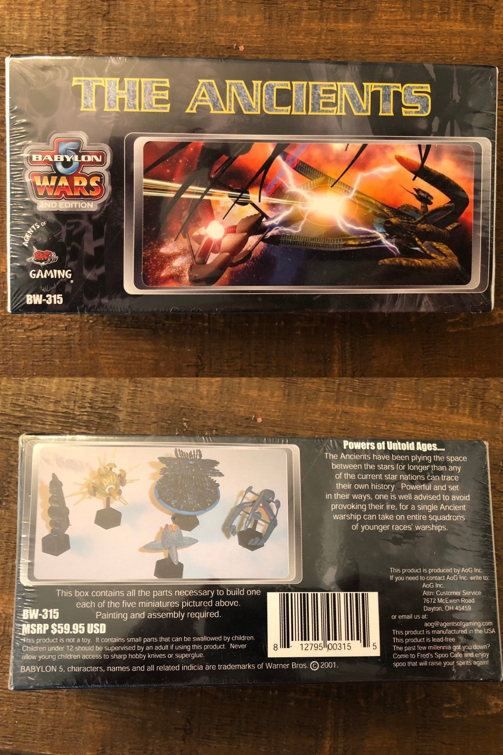Rare Babylon 5 Limited Edition Component Game Cgs 2258 Core Set Games