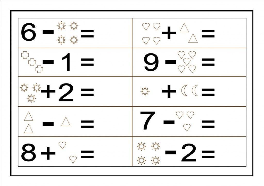 fichas de soma matematica 1