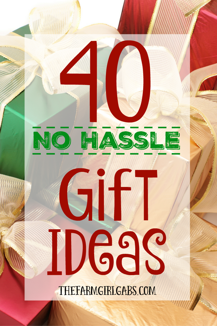 40 No Hassle Gift Ideas | Simple gifts, Breeze and Christmas gifts