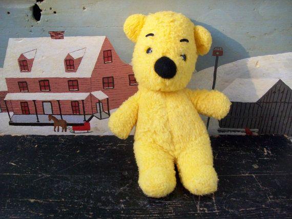 Vintage Winnie The Pooh Gund Sears Stuffed Plush Animal Toy Walt Disney Loved Collectible Vintage Winnie The Pooh Animal Plush Toys Vintage Toys