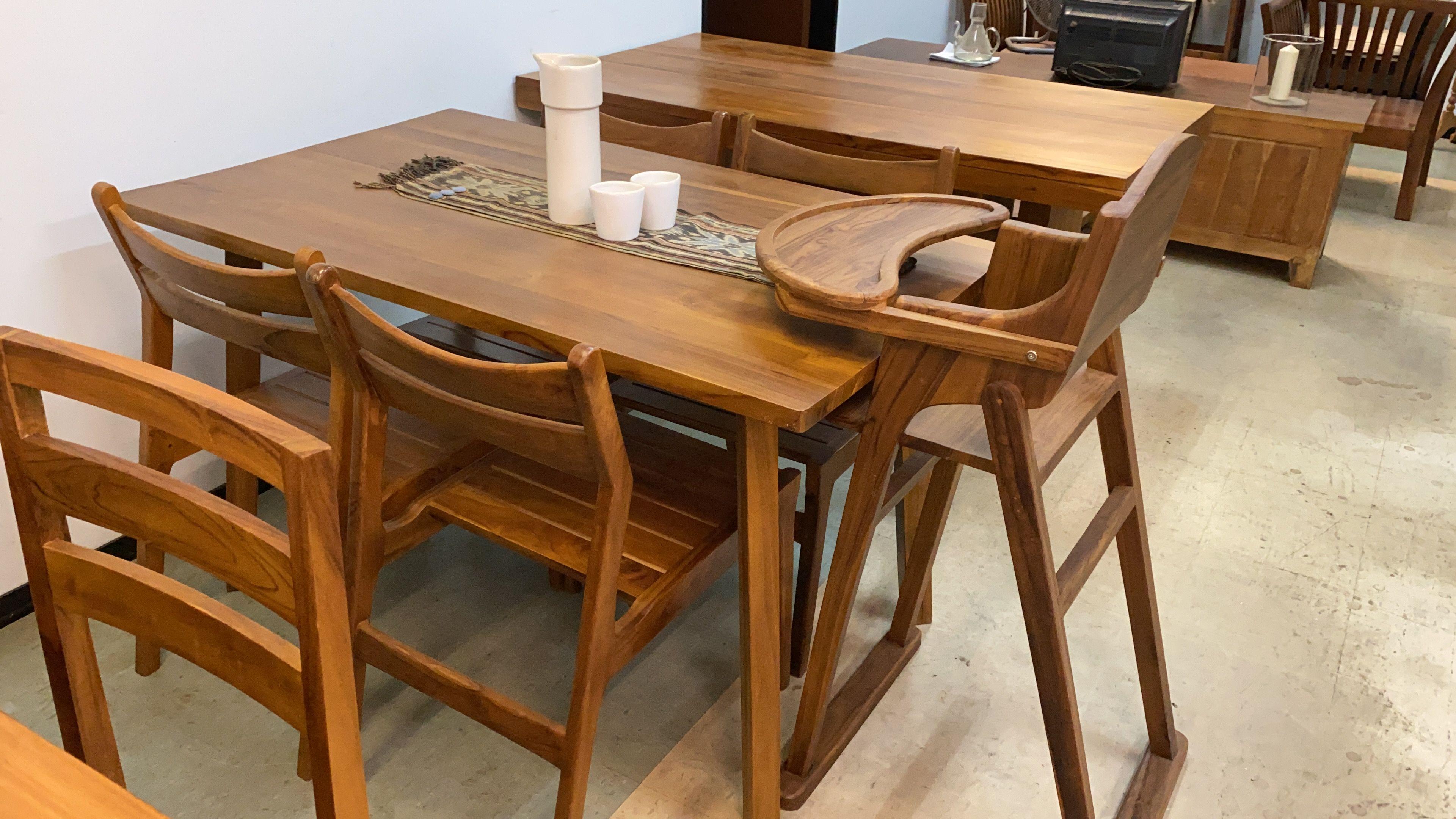 Teak Dining Table Q30 X 80 Cm In 2020 Dining Table Teak Dining