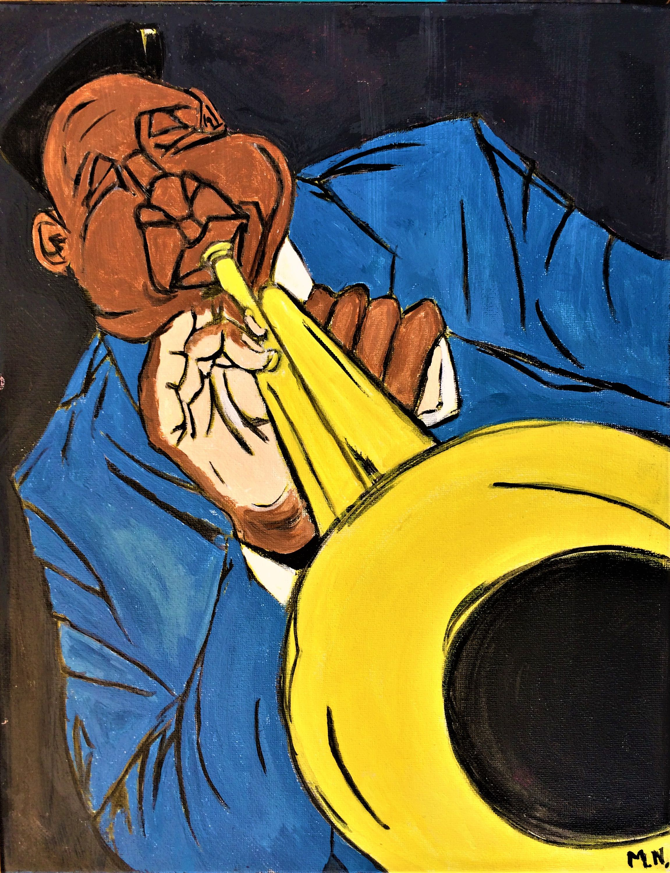 Art Print, Digital print, Jazz, Jazz Art, African American Art by ...