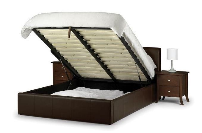 Hydraulic Bed With Hidden Storage Leather Bed Bed Frame With