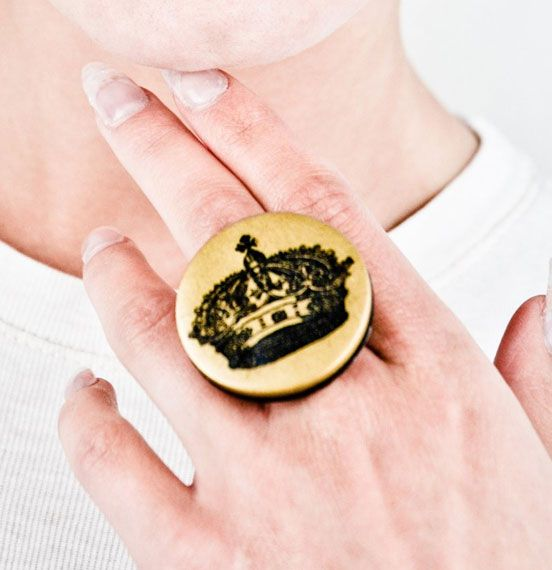 Im The Motherking Princess Ring - By Dual Nation