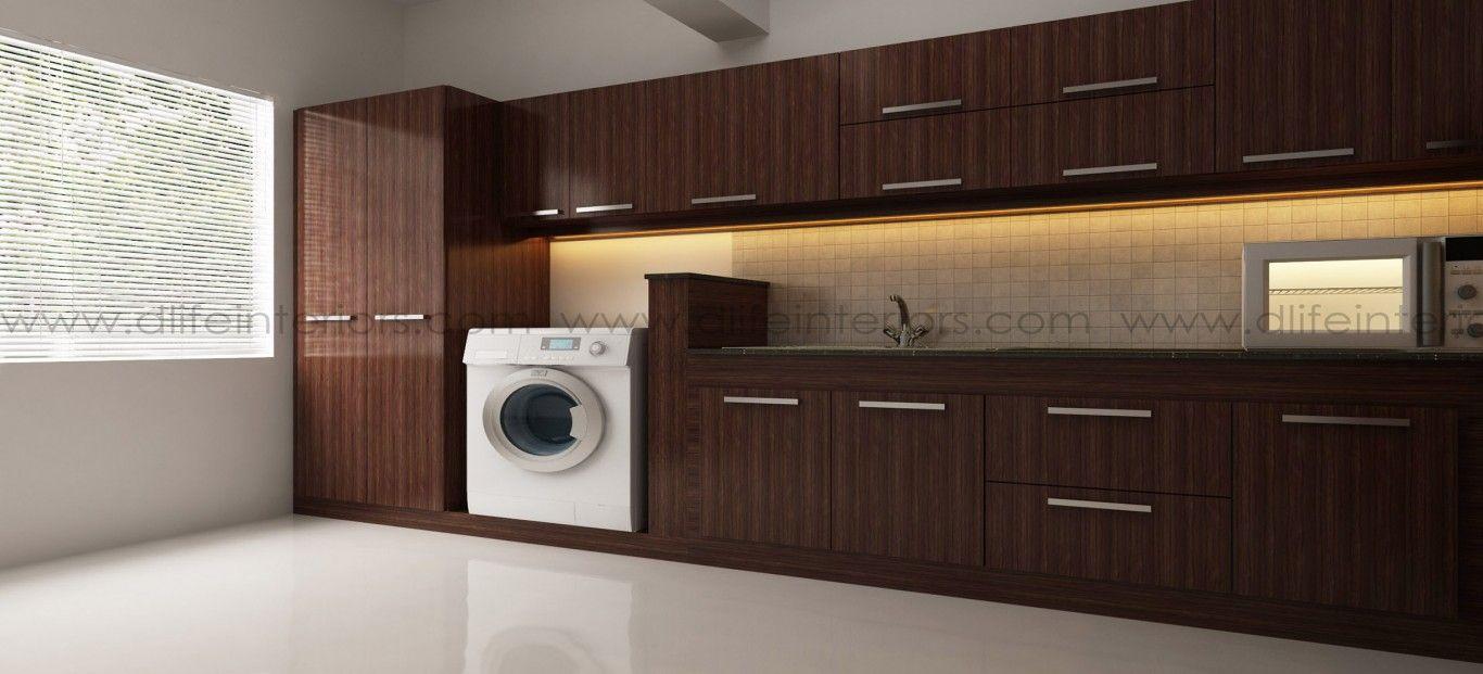 Best Straight Modular Kitchen Designs In Kerala Bangalore 400 x 300