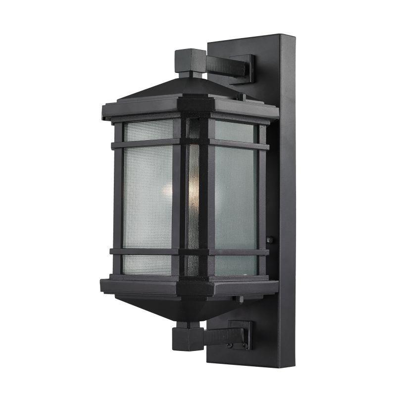 Elk Lighting 87041 1 Outdoor Sconces Outdoor Wall Lantern Elk Lighting