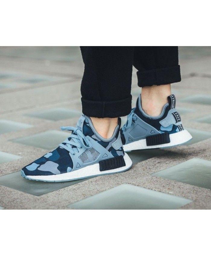adidas nmd r1 bleu femme