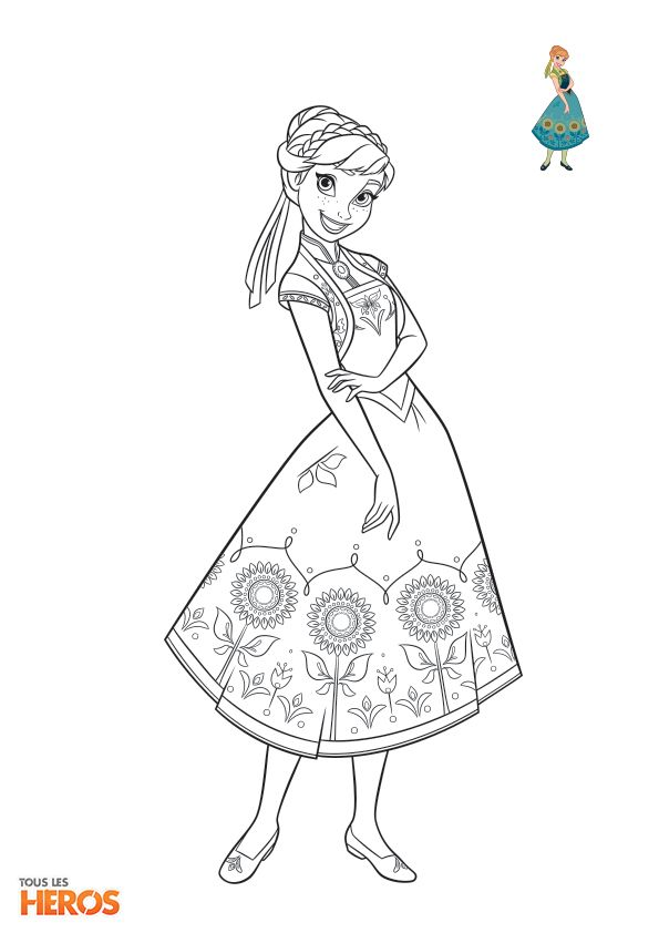 Coloriage Frozen4 Jpg 595 842 Disney Princess Coloring Pages Princess Coloring Pages Disney Coloring Pages
